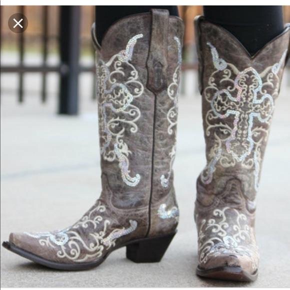 corral tobacco boots